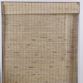 Arlo Blinds Bamboo Roman Shade in Mandelhi