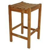 Regal Teak Outdoor Barstools