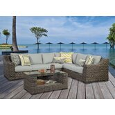 South Sea Rattan Patio Sofas