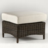 South Sea Rattan Patio Ottomans