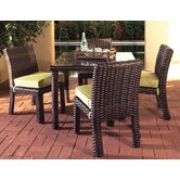 Saint Tropez 5 Piece Dining Set