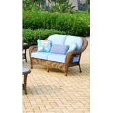 Savannah Wicker Loveseat
