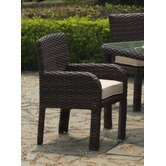 Saint Tropez Wicker Dining Arm Chair