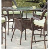 Key West High Wicker  Dining Table