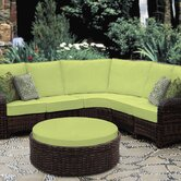 Saint Tropez Sectional Deep Seating Group
