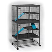 Ferret Nation Double Unit Cage in Gray