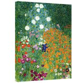 Gustav Klimt ''Farm Garden'' Canvas Art