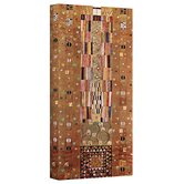 Gustav Klimt ''Abstract Frieze'' Canvas Art
