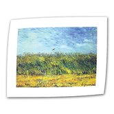 Vincent van Gogh &quot;Green Wheat Fields&quot; Canvas Wall Art