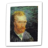 Vincent Van Gogh &quot;Self Portrait&quot; Canvas Wall Art