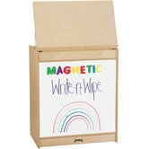 ThriftyKYDZ Big Book Easel - Magnetic Write-n-Wipe