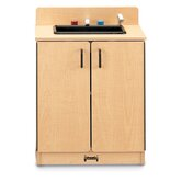 School Age Natural Birch Sink