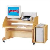 35&quot; W Computer Desk