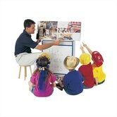 Rainbow Accents Big Book Easel - Write-n-Wipe