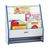 "25"" H KYDZ Rainbow Accents Toddler Book Stand - Rectangular"