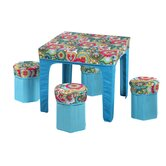 Kid's Square Pack and Play Table