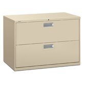 600 Series 42&quot; W Two-Drawer Lateral File