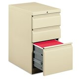 Efficiencies Mobile Pedestal File w/One File/Two Box Drawers, 22-7/8:d, PY
