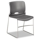 Olson Stacker Chair, Silver Gray, Four/Carton