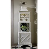 Pagoda Collector's Cabinet in White