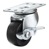 Cabinet and Rack Lockable Brake Caster