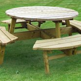 Rose Picnic Table