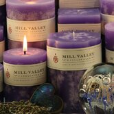 Lavender Scented Pillar Candle