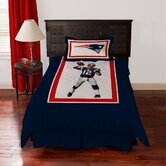 NFL Tom Brady Polyseter Comforter Set