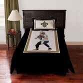 NFL Drew Brees Polyseter Comforter Set