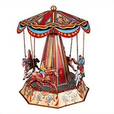 Tin Horse Carousel Toy