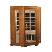 2 Person Corner Far Infrared Carbon Sauna