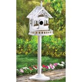 Cape Cod Pedestal Birdhouse