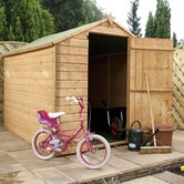 Budget OSB Apex Storage Shed with Large Door