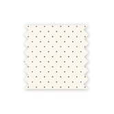 Mod Dot Printed Sheet in Brown