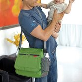 Via Messenger Diaper Bag