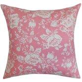 Rosebud Floral Pillow