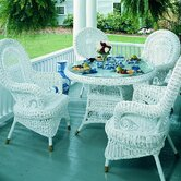 Spice Islands Wicker Dining Sets