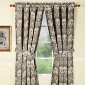 Daphne Lagoon Rod Pocket Curtain Single Panel