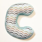 "Puppy Pal Boy Letter Pillow ""C"""