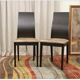 Baxton Studio Lambert Side Chair (Set of 2)