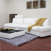 Baxton Studio Midori Leather Modular Sectional