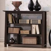 Baxton Studio Havana Short Modern Bookcase in Brown