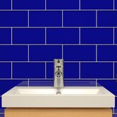 "Subway 6"" x 3"" Tile in Midnight Blue"
