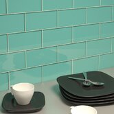 "Subway 6"" x 3"" Tile in Teal"