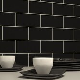 Subway Tile in Black
