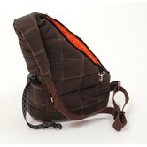 Pooch Pouch Messenger Pet Carrier in Brown