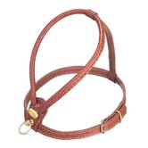 Fashion Leather Dog Harness in Brown