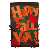Happy Fall Y'all 2-Sided Garden Flag