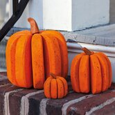 Bloomwood Meadows Pumpkin Statue (Set of 3)