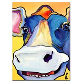 "Dairy Queen by Pat Saunders-White, Canvas Art - 24"" x 18"""